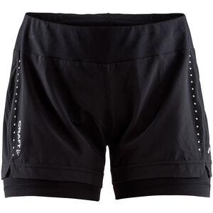 Craft Essential 2-In-1 Shorts Dam black black