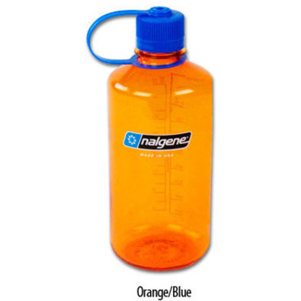 Nalgene NarrowMouth Tritan Flask 1000ml orange/blue