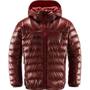 Haglöfs Bivvy Reversible Hood Ungdomar maroon red/brick red maroon red/brick red