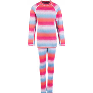 Reima Taival Thermal Baselayer Set Barn Candy Pink Candy Pink