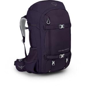 Osprey Fairview Trek 50 Backpack Dam amulet purple amulet purple