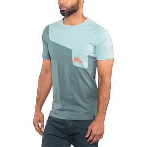 La Sportiva Climbique T-shirt Herr slate/stone blue slate/stone blue