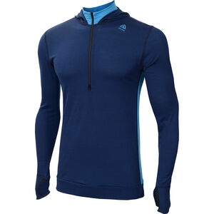 Aclima LightWool Hoodie Herr insignia blue/blithe insignia blue/blithe