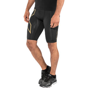 2XU MCS Run Compression Shorts Herr black/gold reflective black/gold reflective