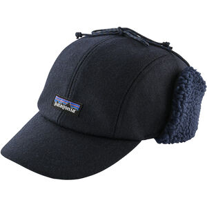 Patagonia Recycled Wool Ear Flap Cap classic navy classic navy