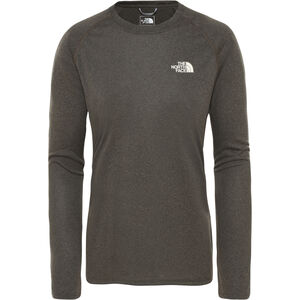 The North Face Reaxion Amp LS Crew Dam New Taupe Green Heather New Taupe Green Heather