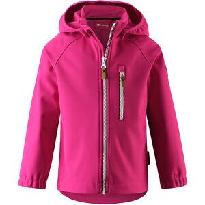 Reima Vantti Softshell Jacket Barn Raspberry Pink Raspberry Pink