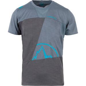La Sportiva Workout T-shirt Herr carbon/slate carbon/slate