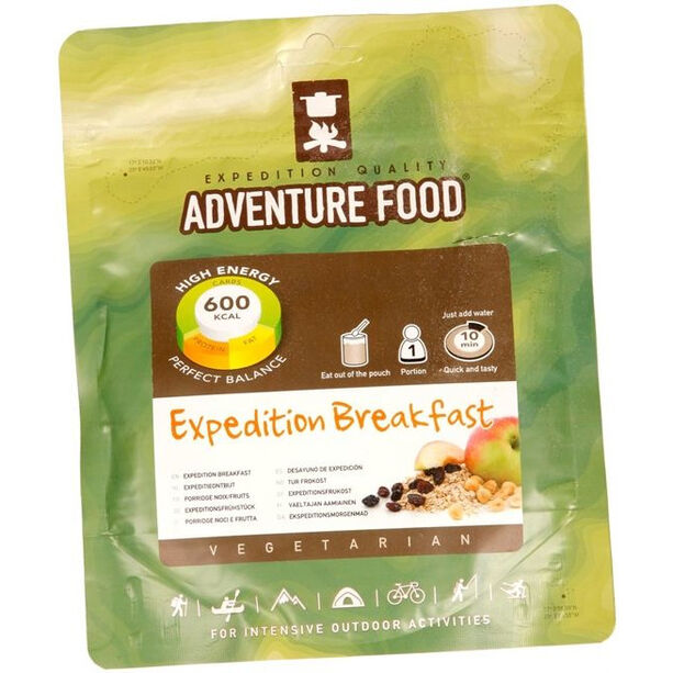Adventure Food Expeditionsfrukost