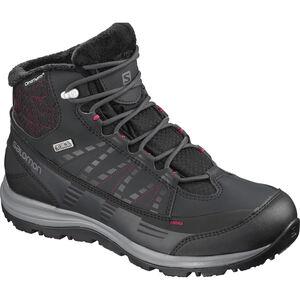 Salomon Kaïna CS WP 2 Shoes Dam phantom/black/beet red phantom/black/beet red