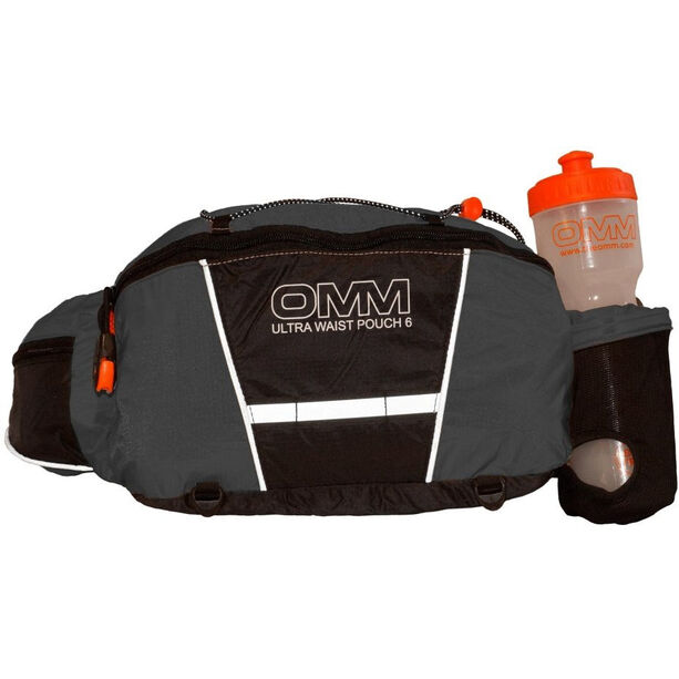 OMM Ultra Waist Pouch with Bottle grey/black