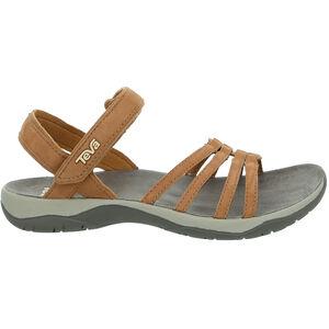 Teva Elzada Leather Sandals Dam pecan pecan