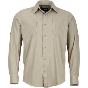 Marmot Trient LS Shirt Herr light khaki light khaki