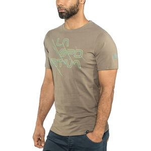 La Sportiva Sliced Logo T-shirt Herr falcon brown falcon brown