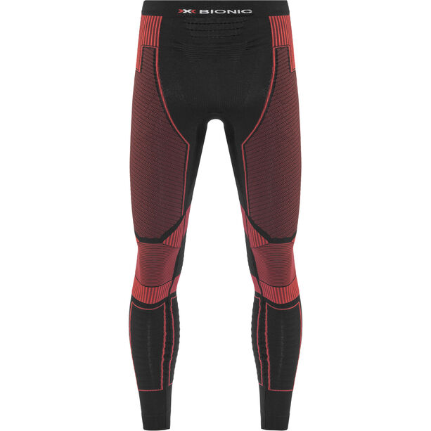 X-Bionic Effektor Power Running Pants Long Herr black/red