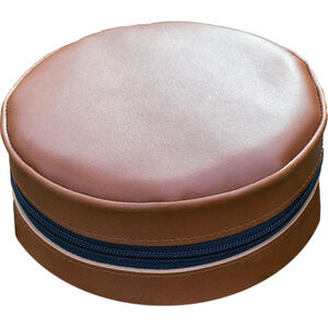 Lemmel Kaffe Coffee pan in leather case