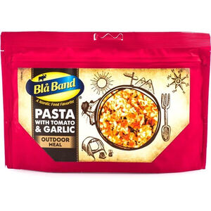 Bla Band Outdoor Meal Pasta with Tomato and Garlic