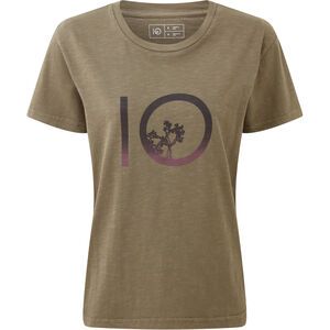 tentree Gradient Ten SS Tee Dam Olive Night Green Olive Night Green