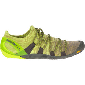 Merrell Vapor Glove 4 3D Shoes Herr olive drab/lime punch olive drab/lime punch