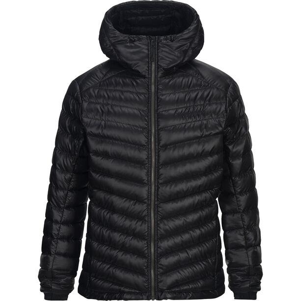 Peak Performance Ice Down Hooded Jacket Herr black