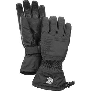 Hestra CZone Powder 5-Finger Gloves Dam black/black black/black