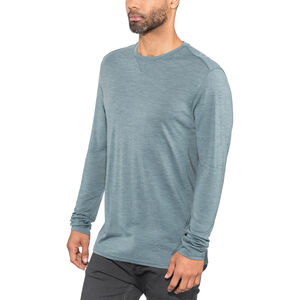Alchemy Equipment 180GSM Single Jersey Merino LS Crew Herr smokey blue marle smokey blue marle