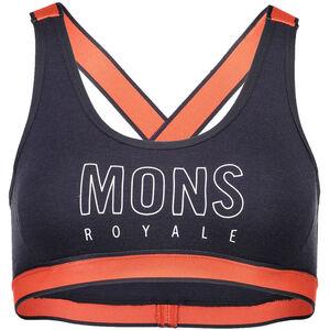 Mons Royale Stella X-Back Bra Dam coral/9 iron coral/9 iron