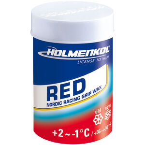 Holmenkol Grip Grip Wax 45g red red