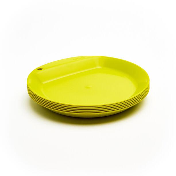 Wildo Camper Plate Flat Set Unicolor 6x lime