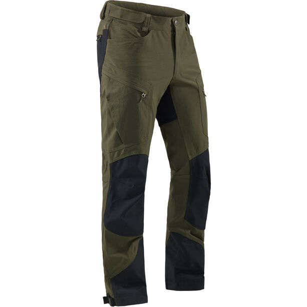 Haglöfs Rugged Mountain Pants Herr deep woods/true black