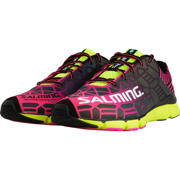 Salming Speed 6 Shoes Dam fluo pink/flou yellow