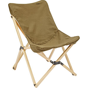 CAMPZ Beech Wood Folding Chair brown brown