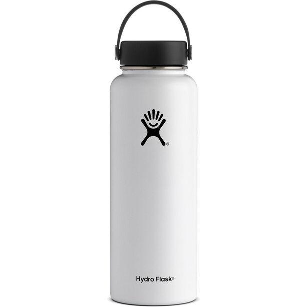 Hydro Flask Wide Mouth Flex Bottle 1180ml white
