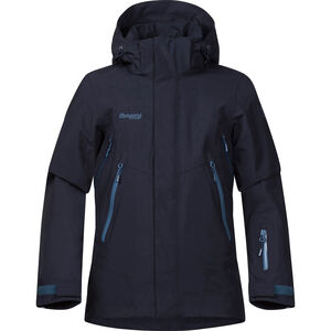 Bergans Ervik Insulated Jacket Pojkar dark navy/dark steel blue/steel blue dark navy/dark steel blue/steel blue