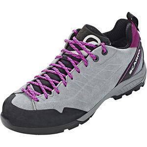 Scarpa Epic GTX Shoes Dam metal gray-fuxia metal gray-fuxia