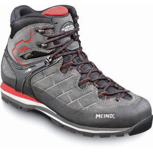 Meindl Litepeak GTX Shoes Herr graphite/dark red graphite/dark red