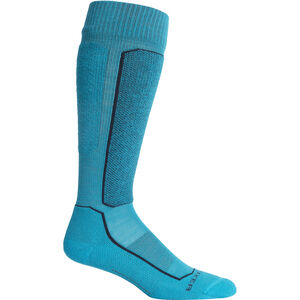 Icebreaker Ski+ Light OTC Socks Dam Arctic Teal Arctic Teal