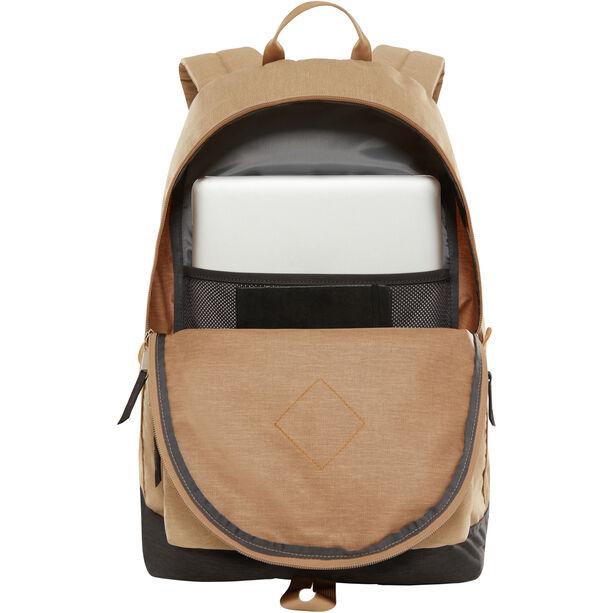 The North Face Berkeley Backpack kelp tan dark heather/asphalt grey light heather