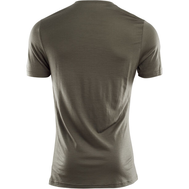 Aclima LightWool T-shirt Herr ranger green