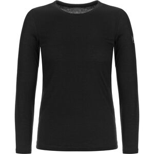 super.natural Base 175 LS Shirt Dam jet black jet black