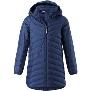 Reima Filpa Down Jacket Flickor Navy Navy