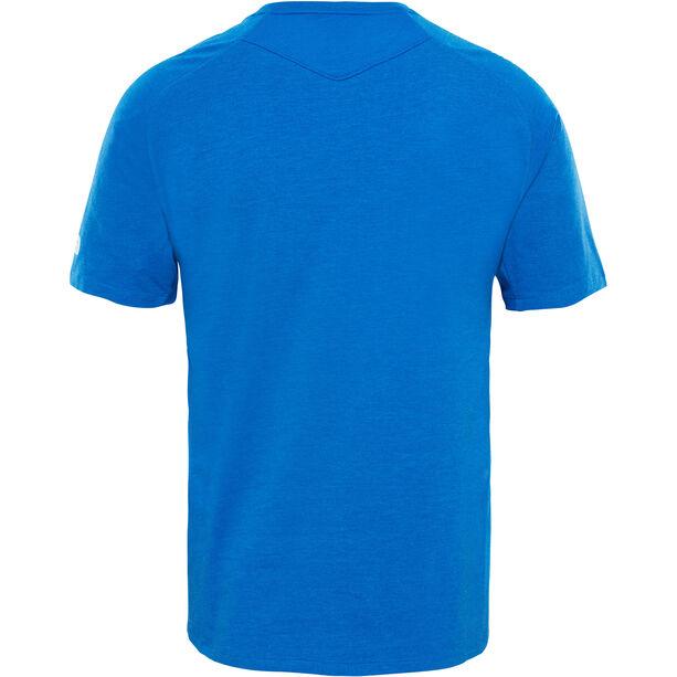 The North Face Wicker Graphic Crew Shirt Herr turkish sea heather