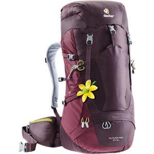 Deuter Futura Pro 34 SL Backpack Dam aubergine-maron aubergine-maron
