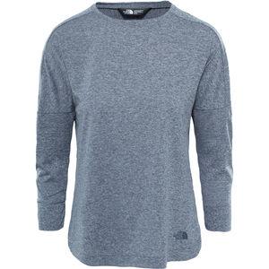 The North Face Inlux 3/4 Sleeve Top Dam vanadis grey heather vanadis grey heather