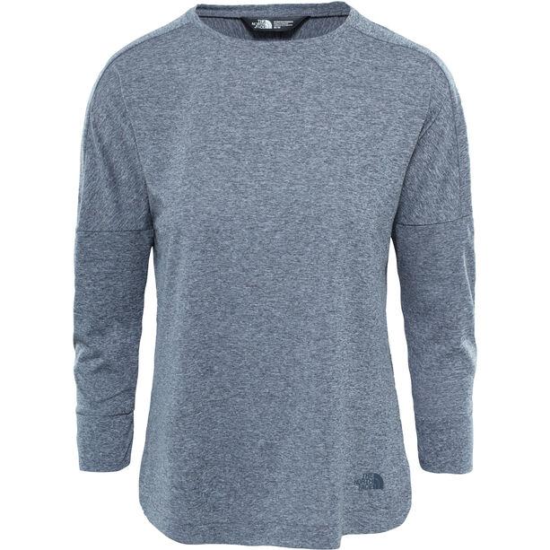The North Face Inlux 3/4 Sleeve Top Dam vanadis grey heather