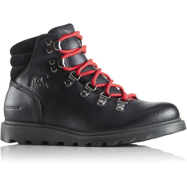 Sorel Madson Hiker Waterproof Shoes Barn black/black