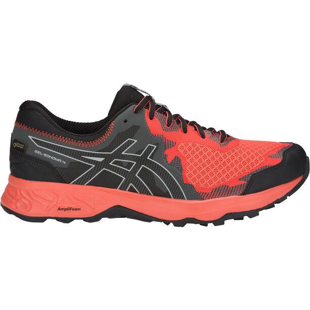 asics M's Gel-Sonoma 4 G-TX Shoes Herr red snapper/black
