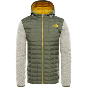 The North Face Thermoball Gordon Lyons Hybrid Hoodie Herr four leaf clover/oatmeal heather four leaf clover/oatmeal heather