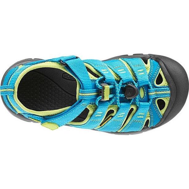 Keen Newport H2 Sandals Ungdomar hawaiian blue/green glow