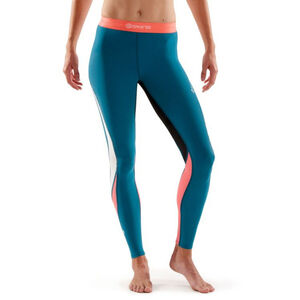 Skins DNAmic Long Tights Dam cerulean cerulean